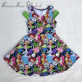 Ready to Ship! Handmade Toy Story Breezy Shoulder Dress