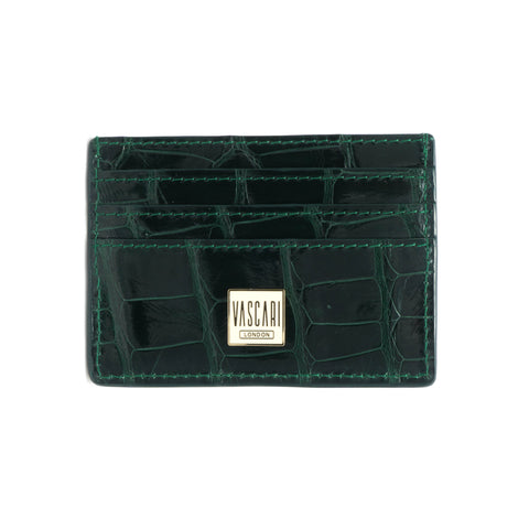Card Holder Emerald Green