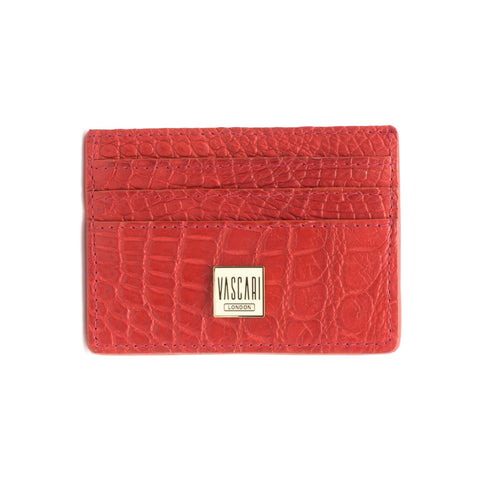 Card Holder Rose Red