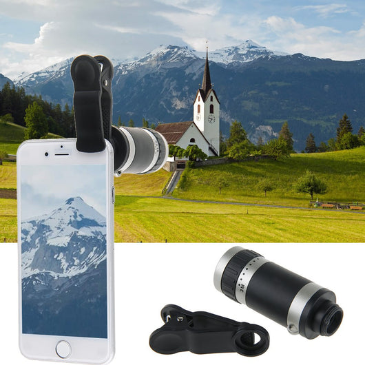 NEW 2017 8X Zoom Telescope Lens for ALL Mobile Phones