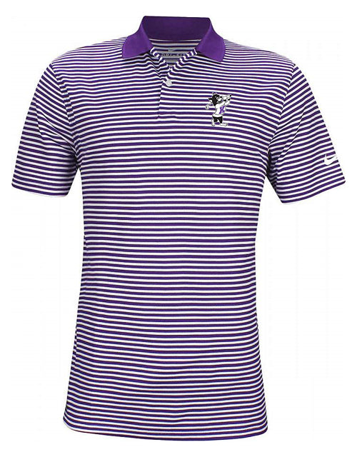 K-State NIKE 2020 Dry Victory Stripe Polo (Purple)
