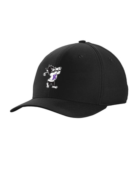 K-State NIKE Classic99 Fitted (Black)