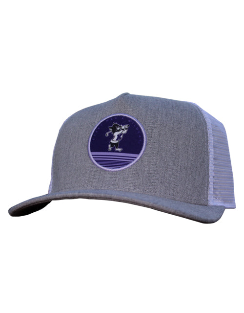 K-State EMAW Patch Hat (Grey Heather/White)