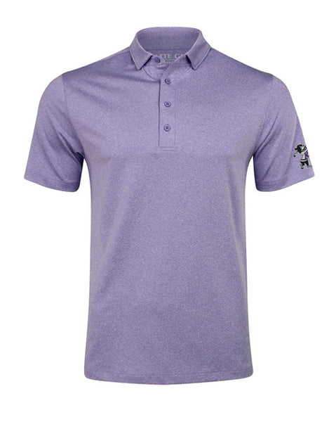 K-State MATTE GREY Captain Polo (Amethyst Heather)