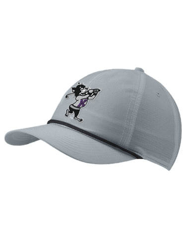 K-State NIKE L91 Rope Hat (Wolf Grey)