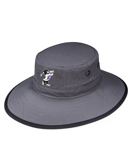 K-State Wide Brim Shademaker (Grey)