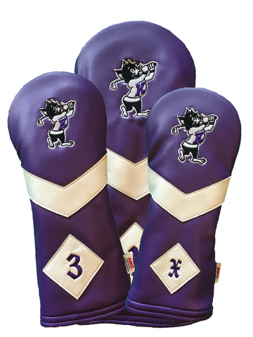 K-State Headcover Set (Purple)