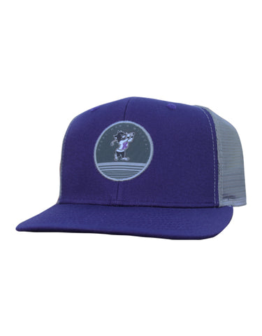 K-State EMAW Patch Hat (Purple/Grey)