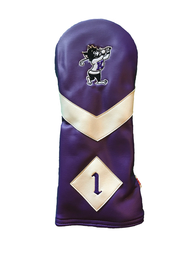 K-State Driver Headcover (Purple)
