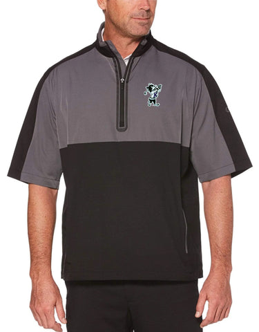 K-State Callaway Short Sleeve Windshirt (Black/Grey)