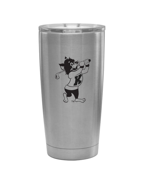K-State Golfing Willie Tumbler (Stainless)