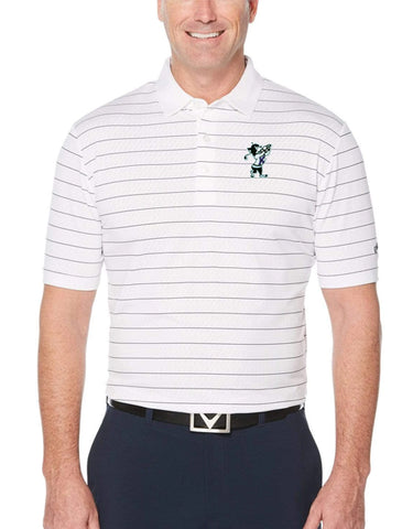 K-State Callaway Ventilated Polo (White)