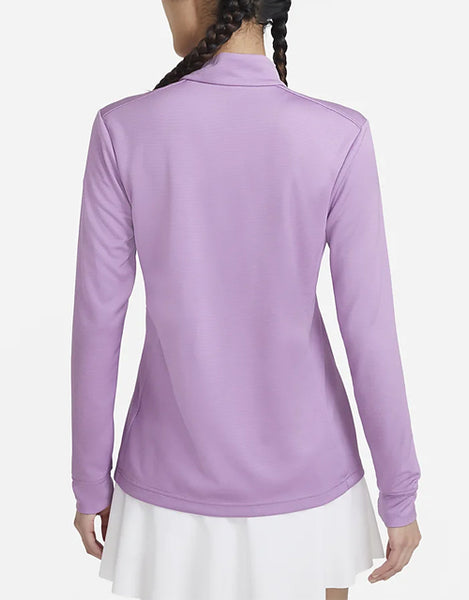 NIKE Women's Victory UV 1/4 Zip (Violet Shock)