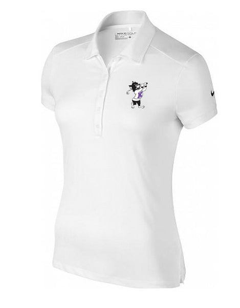 NIKE Women's Victory Solid Polo (White)