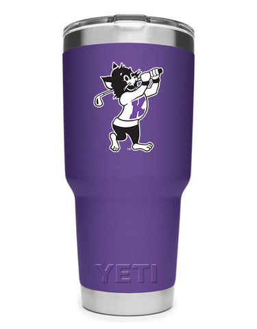 K-State Yeti 30 oz Golfing Willie Rambler (Purple)