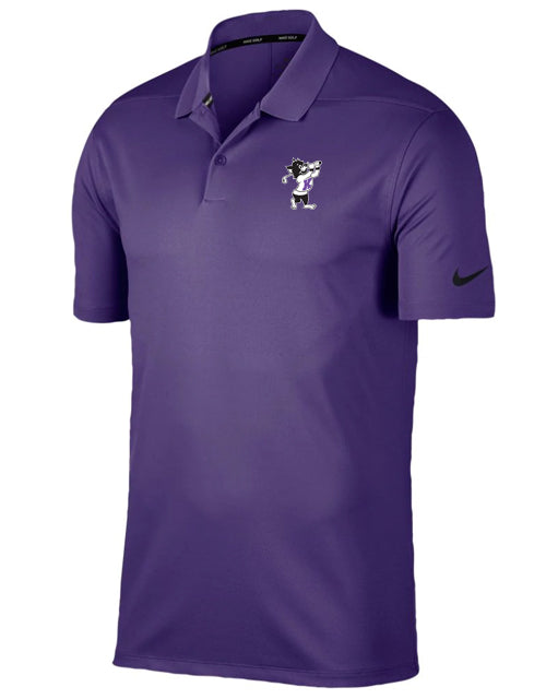 NIKE Victory Solid Polo (Purple)