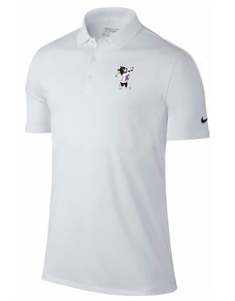 NIKE Victory Solid Polo (White)