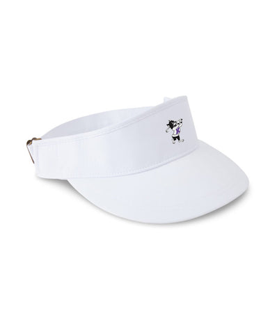 K-State Performance Tour Visor (White)