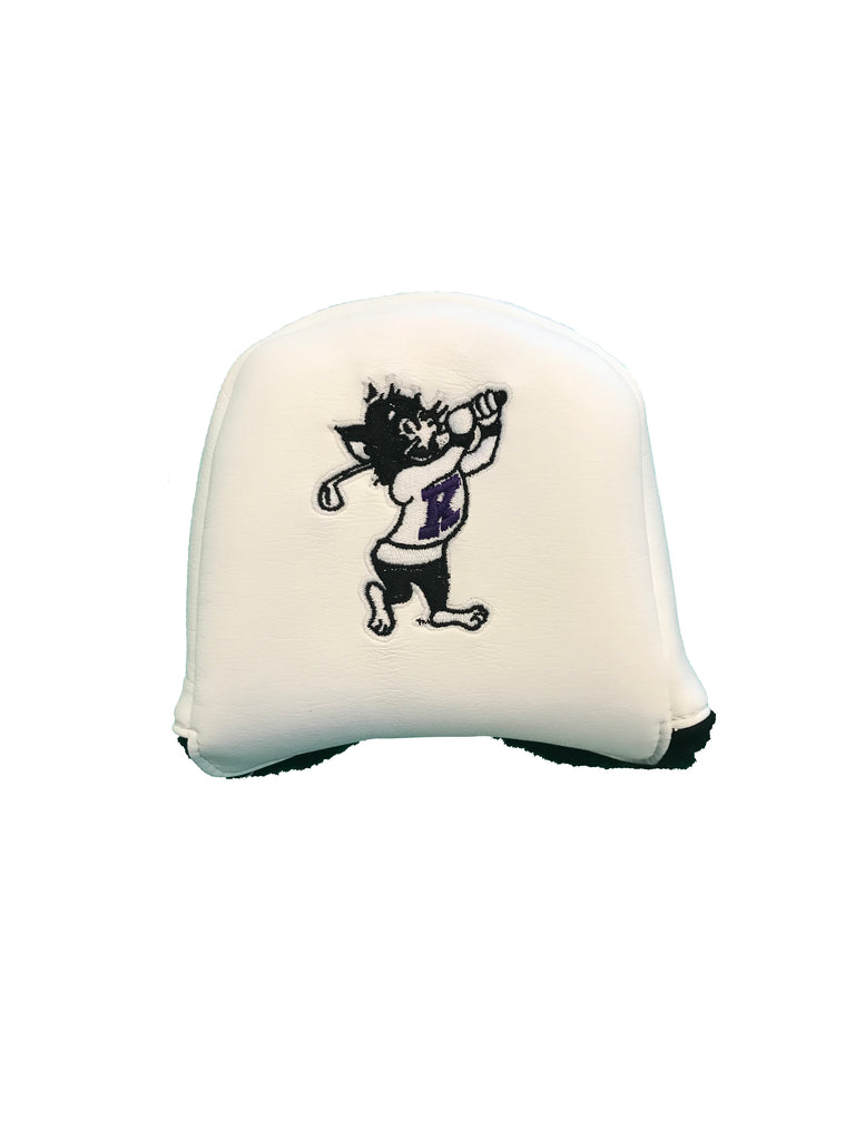 K-State Mallet Putter Cover (White)