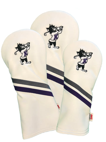 K-State Headcover Set  (White)