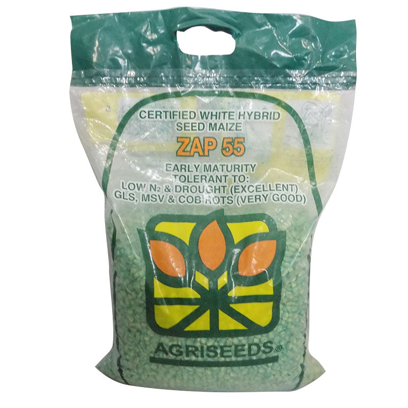 AgriSeeds ZAP55 Early Matury Hybrid Maize Seeds 10kg