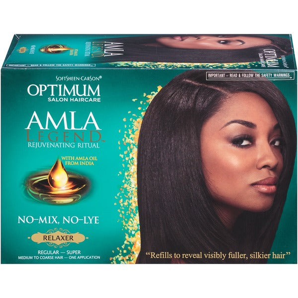 Amla Legend No Iye Relaxer Kit