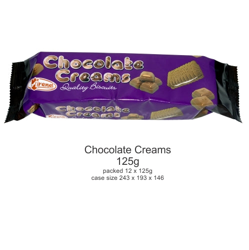 Arenel Biscuits Chocolate Cr 125g