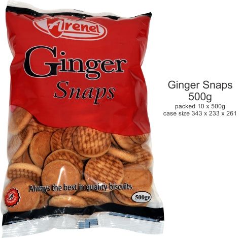 Arenel Ginger Snaps 500g