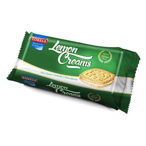 Lobels Biscuits Lemon Cream 150g