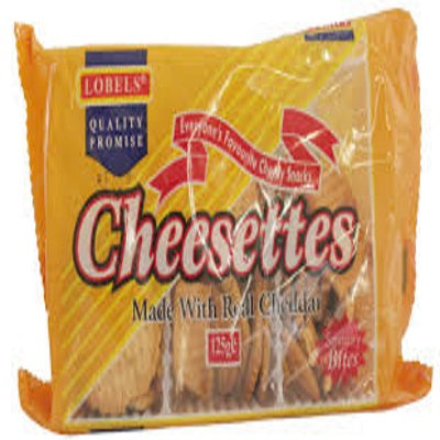 Lobels Cheesettes 125g