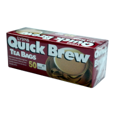 Quick Brew Teabags 50's