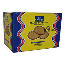 Bakers Blue Label Marie Biscuits 150gx12