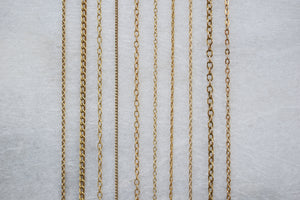ANTIQUE SILVER THREE PENCE COIN NECKLACE 'LUST' IN GOLD