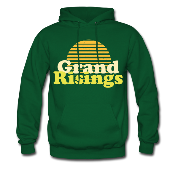 Grand Risings Hoodie - forest green