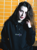 Evoke Clothing - All Eyes On Evoke Stick Hoody Schwarz