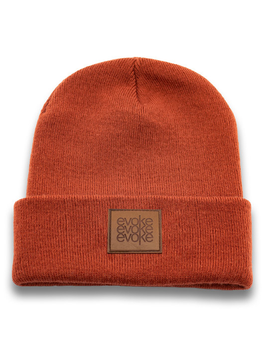 Evoke Clothing - Beanies Orange