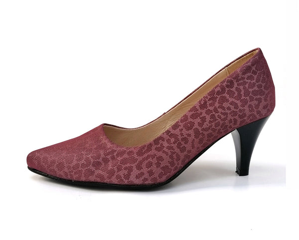 Bordeaux with printed MESH pumps