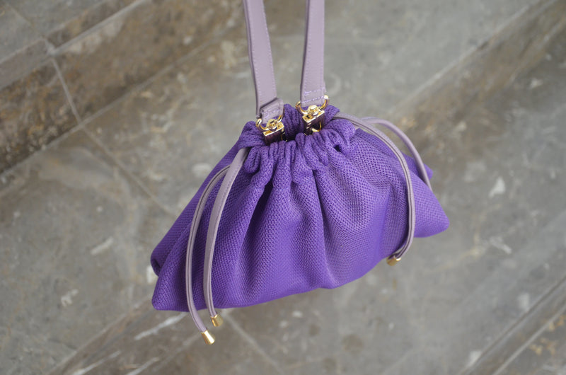 Purple MESH BAG