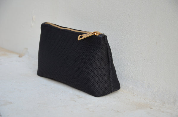 Mini MESH Pouch - Deep Black