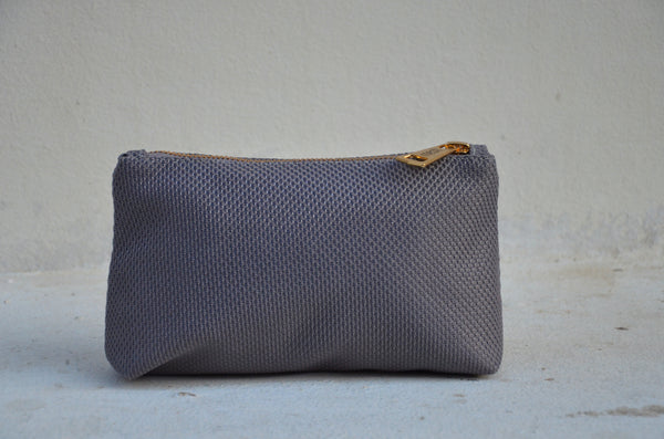 Mini MESH Pouch - Purple