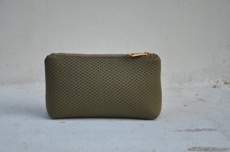Mini MESH Pouch- Olive Green