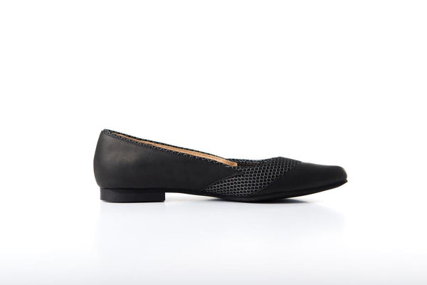 LAST SIZES - Flat Pump black & Black