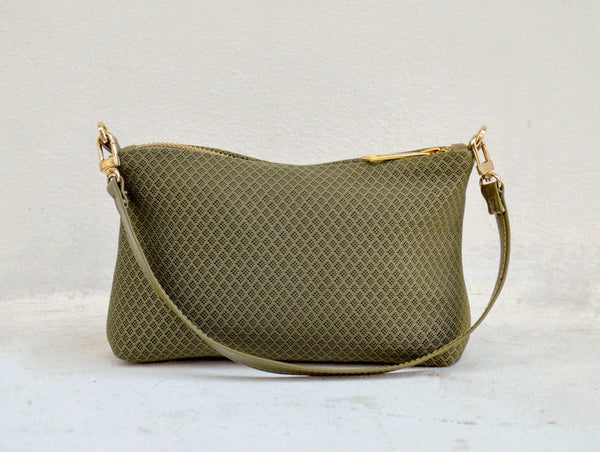 Mini MESH Bag - Olive Green