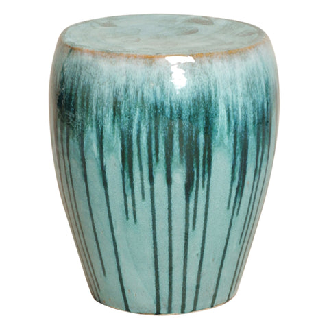Glazed Garden Stool - Hamptons Furniture, Gifts, Modern & Traditional