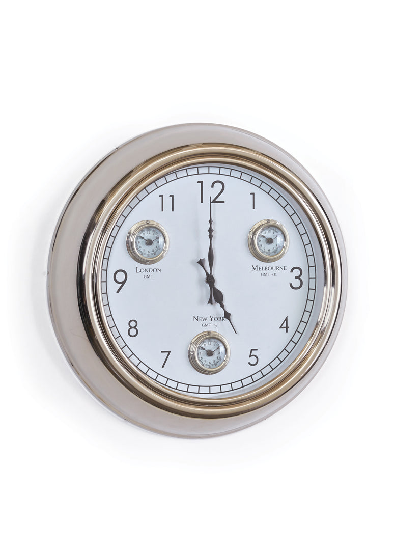 Wall Clock - Hamptons Furniture, Gifts, Modern & Traditional