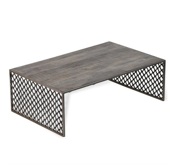 Metal & Wood Coffee table