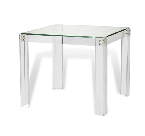 Acrylic & Glass Games or Occasional Table