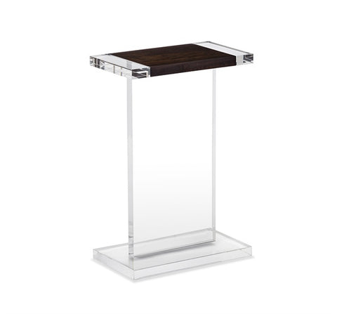Acrylic & Wood Drink Table - Hamptons Furniture, Gifts, Modern & Traditional
