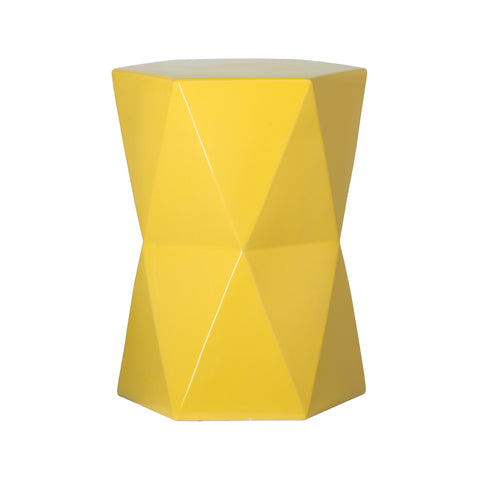 Hexagon Garden Stool - Hamptons Furniture, Gifts, Modern & Traditional