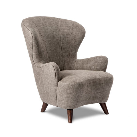 Modern Style Wing Chair - quick ship program!